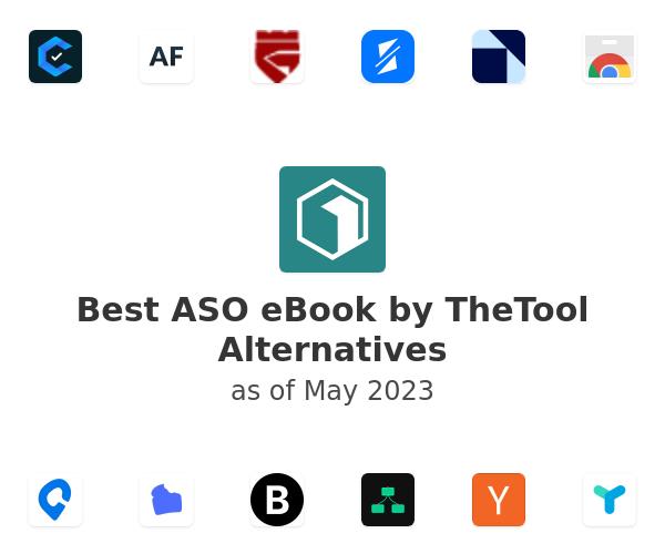 Best ASO eBook by TheTool Alternatives