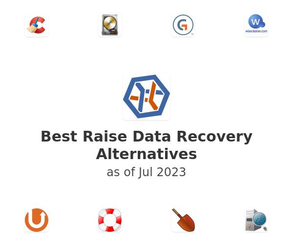 Best Raise Data Recovery Alternatives