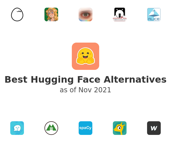 Best Hugging Face Alternatives