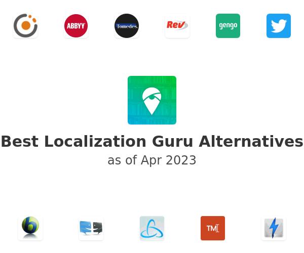 Best Localization Guru Alternatives