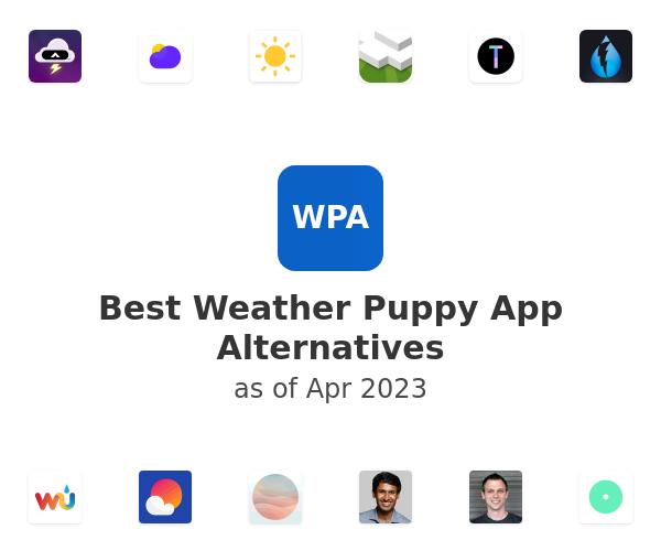 Best Weather Puppy App Alternatives