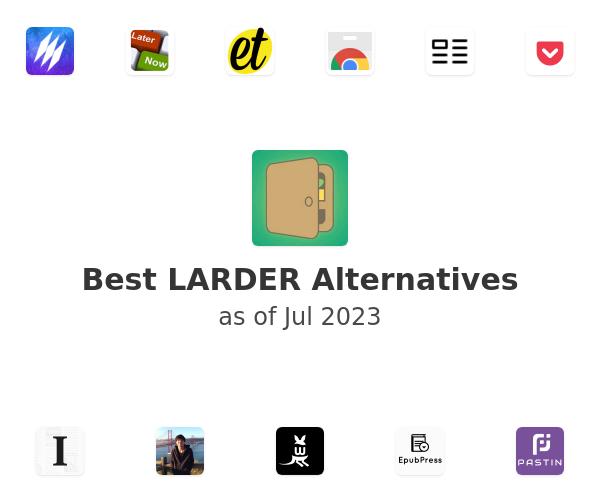 Best LARDER Alternatives