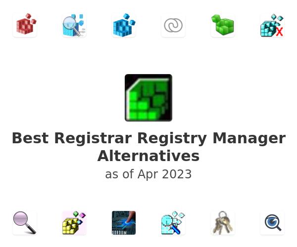 Best Registrar Registry Manager Alternatives