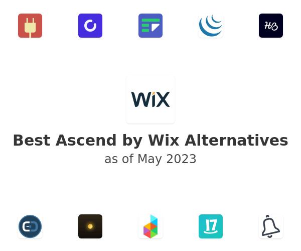 Best Ascend by Wix Alternatives
