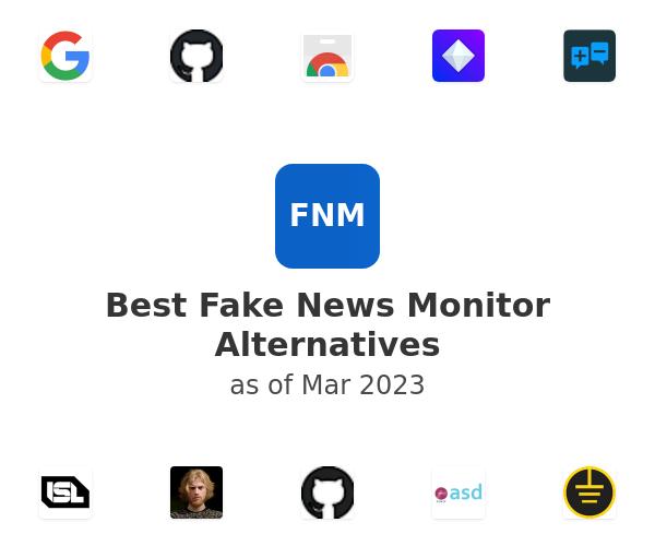 Best Fake News Monitor Alternatives