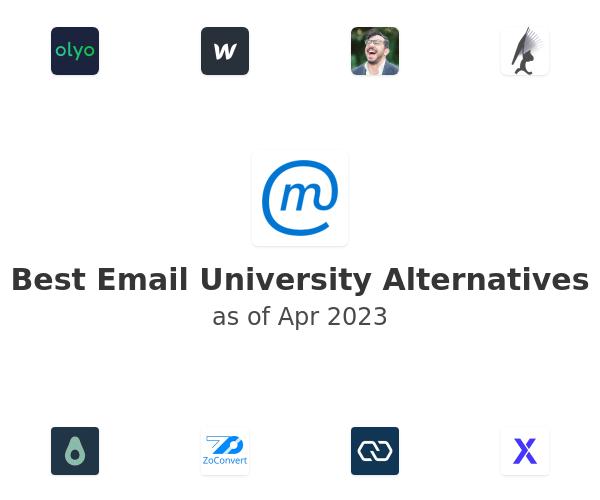 Best Email University Alternatives