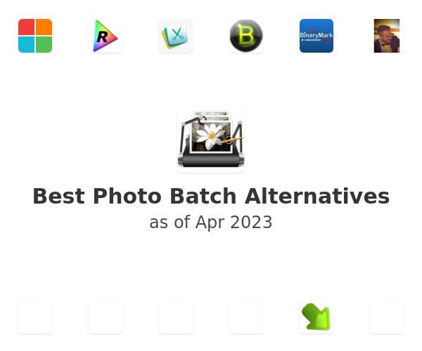 Best Photo Batch Alternatives