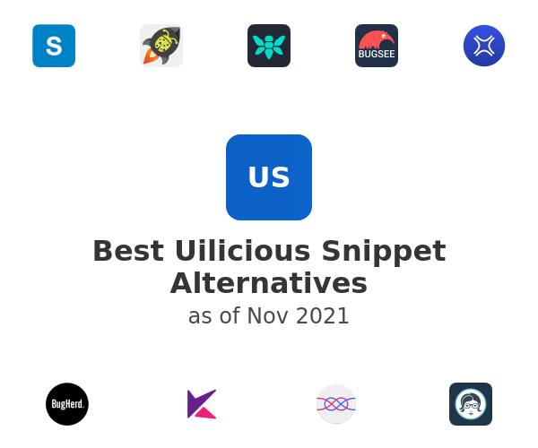 Best Uilicious Snippet Alternatives