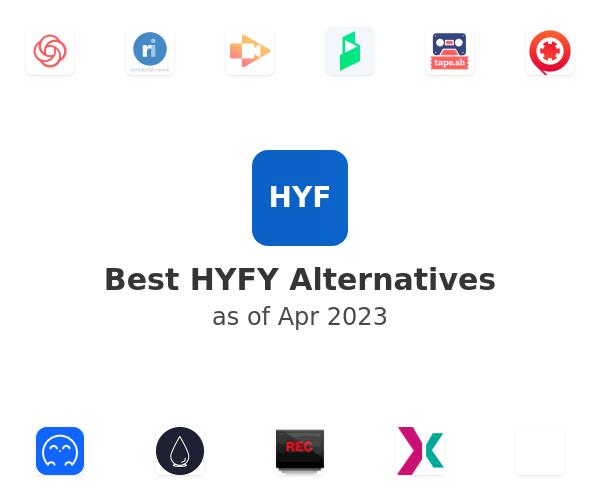 Best HYFY Alternatives