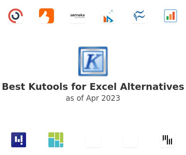 Best Kutools for Excel Alternatives