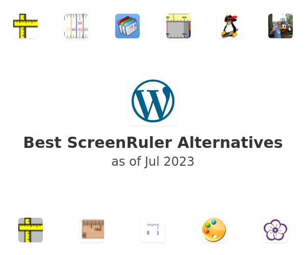 Best ScreenRuler Alternatives