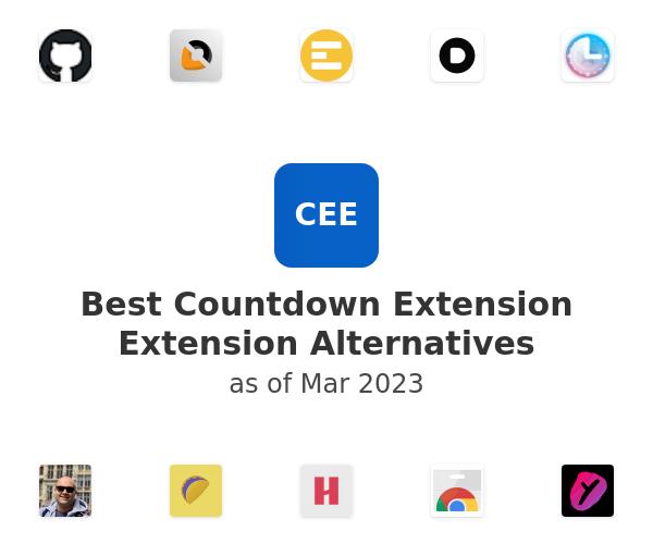 Best Countdown Extension Extension Alternatives