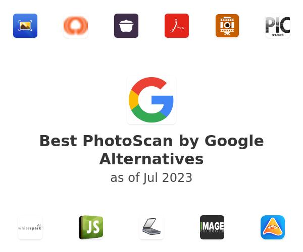 Best PhotoScan by Google Alternatives