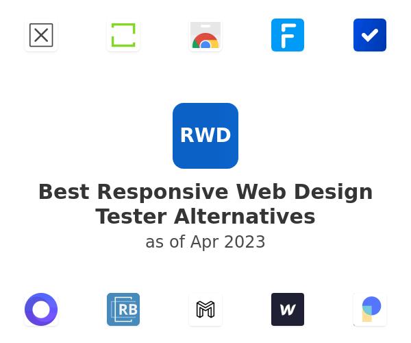 Best Responsive Web Design Tester Alternatives