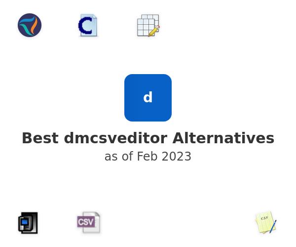 Best dmcsveditor Alternatives