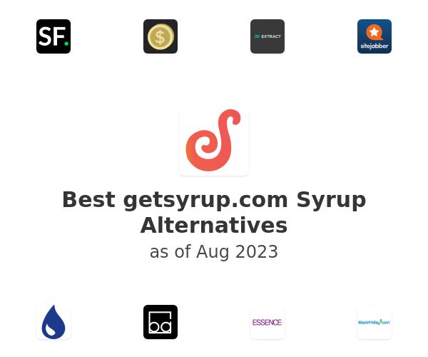Best Syrup Alternatives