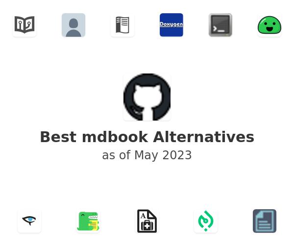 Best mdbook Alternatives