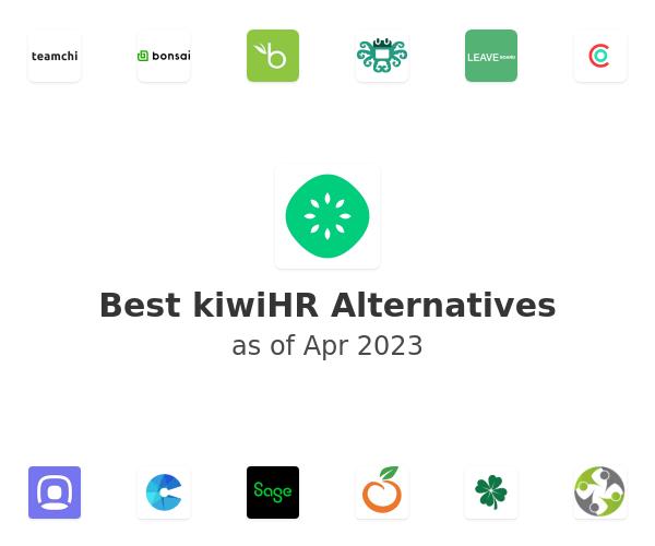 Best kiwiHR Alternatives