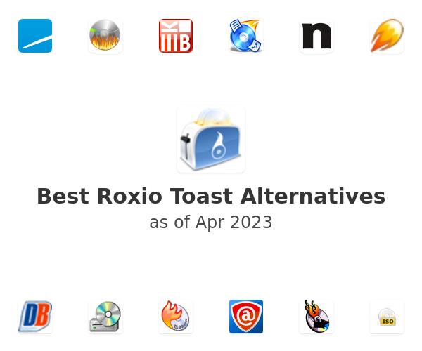 Best Roxio Toast Alternatives