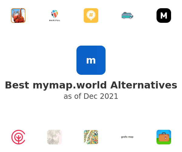 Best mymap.world Alternatives