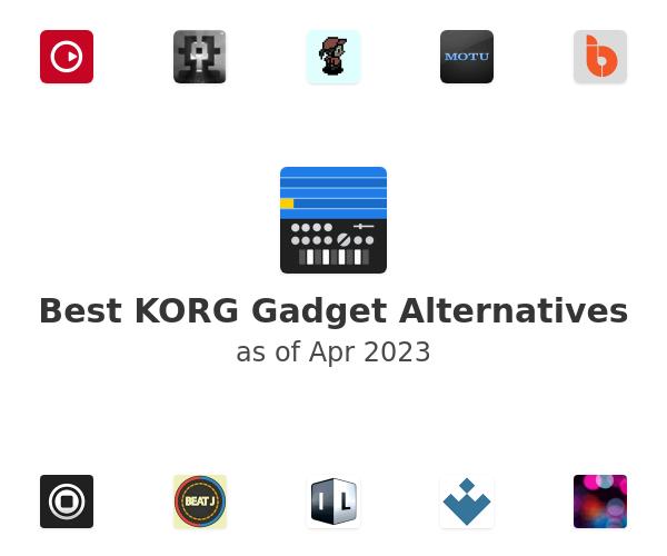 Best KORG Gadget Alternatives