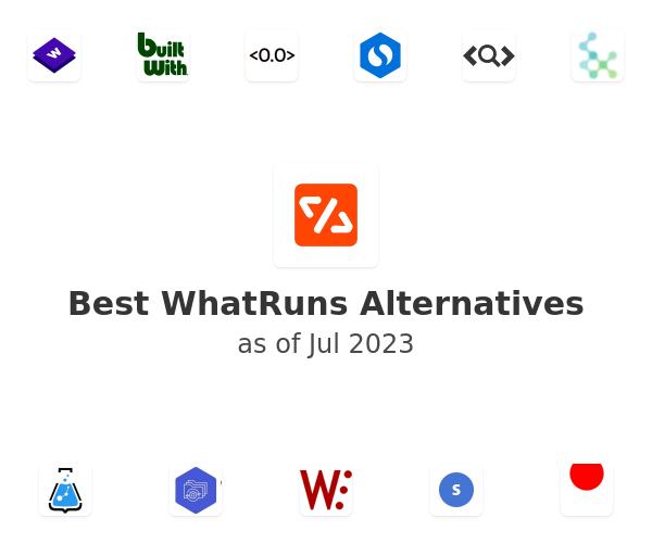 Best WhatRuns Alternatives
