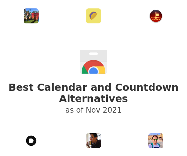 Best Calendar and Countdown Alternatives