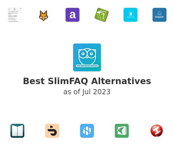 Best SlimFAQ Alternatives