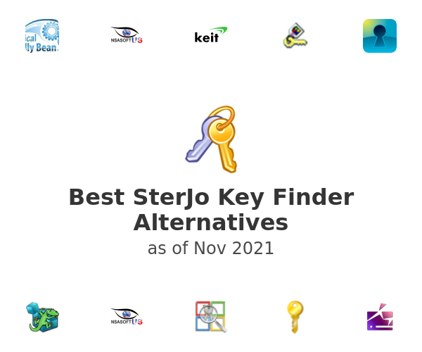 Best SterJo Key Finder Alternatives