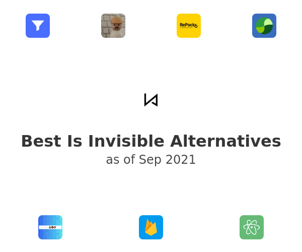 Best Is Invisible Alternatives