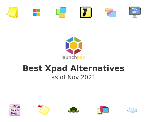 Best Xpad Alternatives