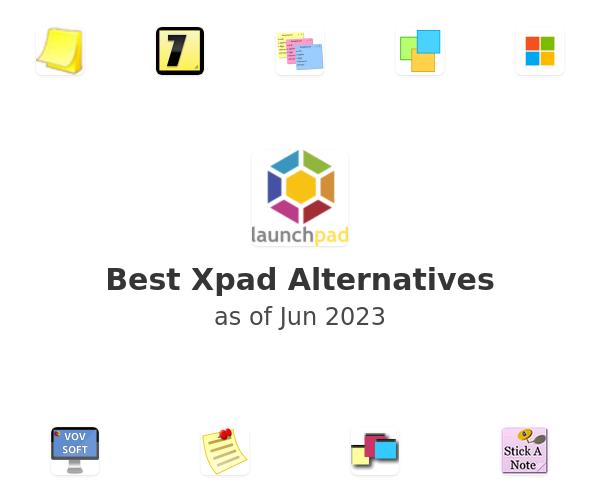 Best Xpad Alternatives