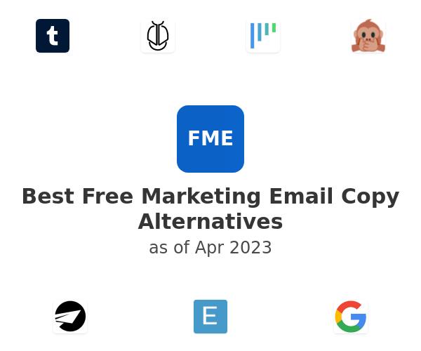 Best Free Marketing Email Copy Alternatives