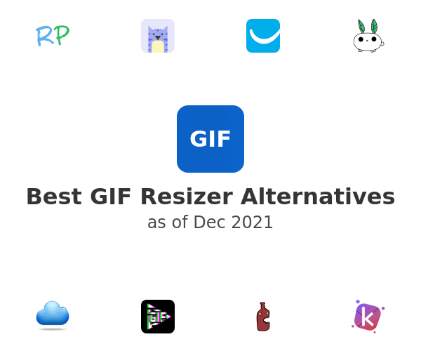Best GIF Resizer Alternatives