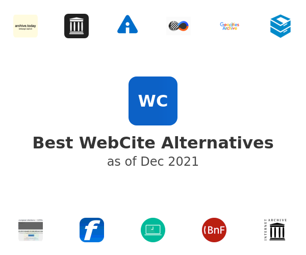 Best WebCite Alternatives