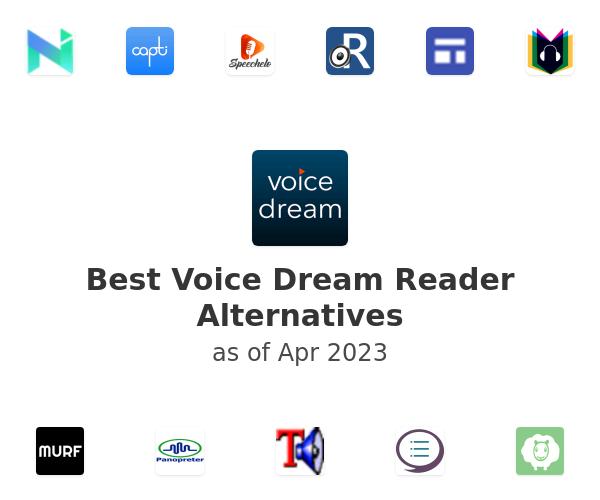 Best Voice Dream Reader Alternatives