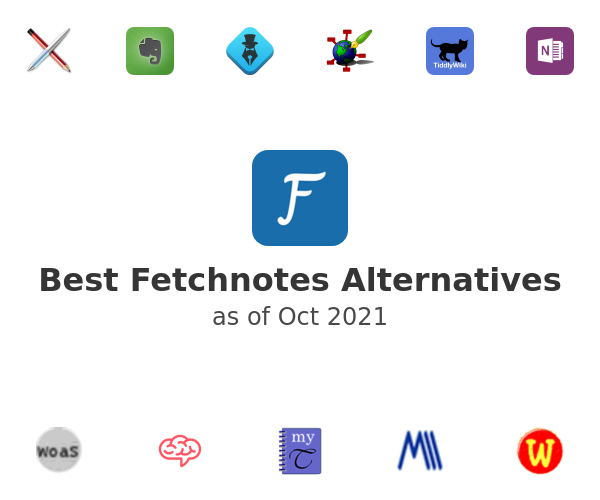 Best Fetchnotes Alternatives