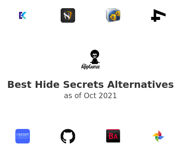 Best Hide Secrets Alternatives