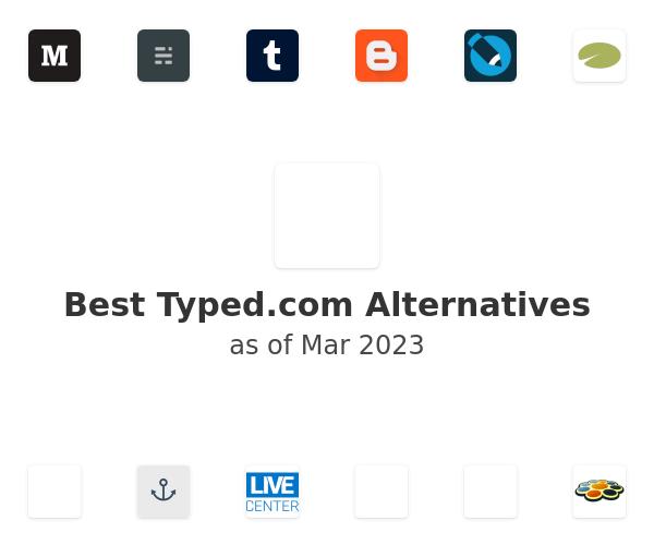 Best Typed Alternatives
