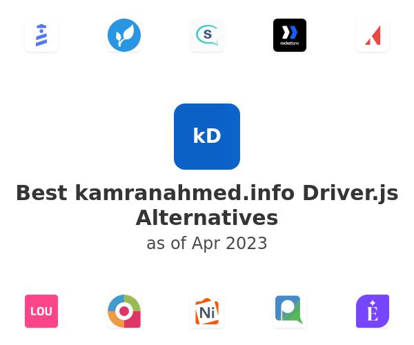 Best kamranahmed.info Driver.js Alternatives