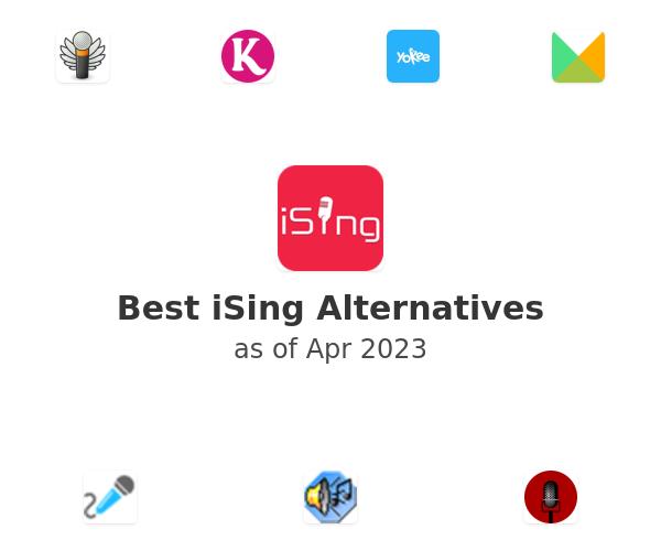 Best iSing Alternatives