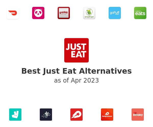 Best Just Eat Alternatives