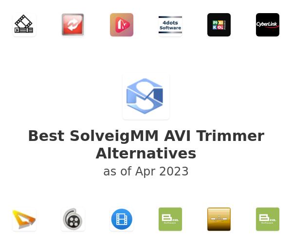 Best SolveigMM AVI Trimmer Alternatives