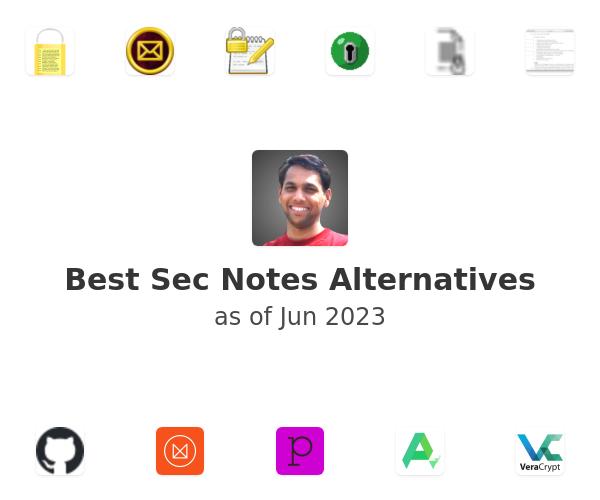 Best Sec Notes Alternatives
