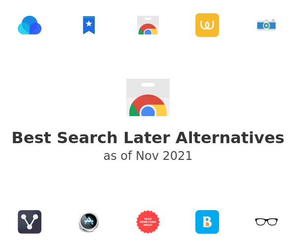 Best Search Later Alternatives