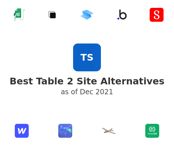 Best Table 2 Site Alternatives