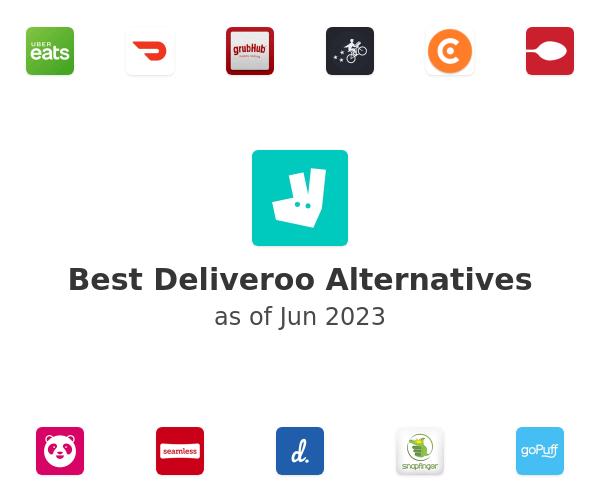 Best Deliveroo Alternatives