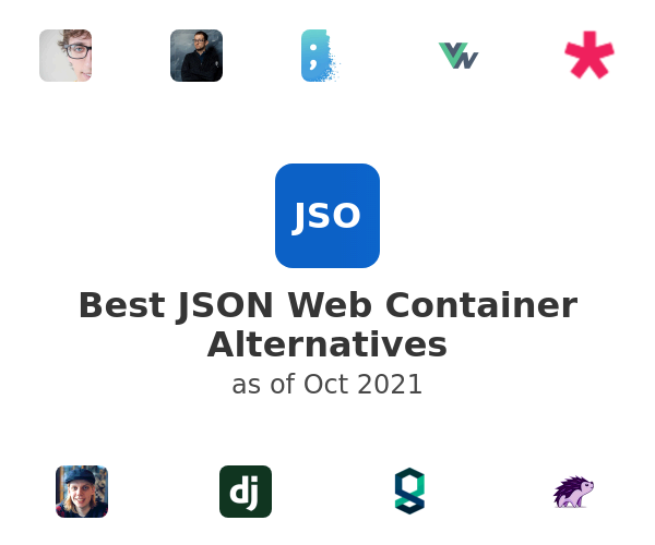 Best JSON Web Container Alternatives