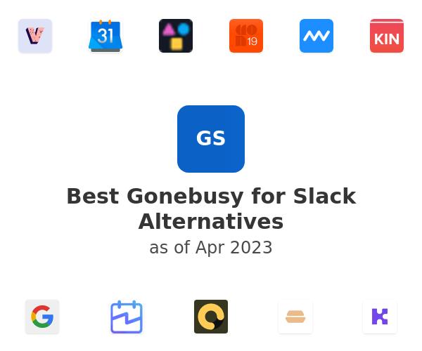 Best Gonebusy for Slack Alternatives