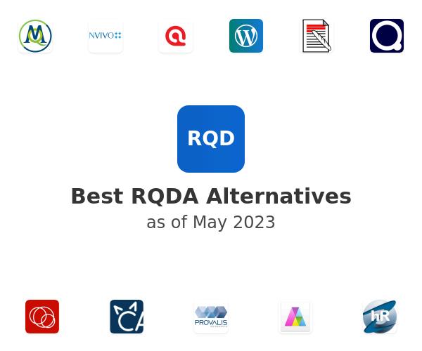 Best RQDA Alternatives
